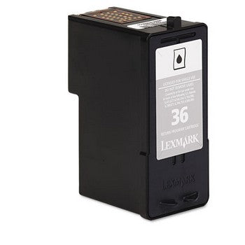 Lexmark 36 Black Ink Cartridge, Lexmark 18C2130