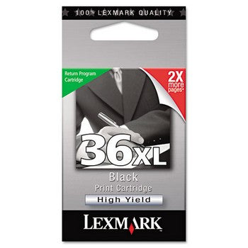 Lexmark 36XL Black, High Yield Ink Cartridge, Lexmark 18C2170
