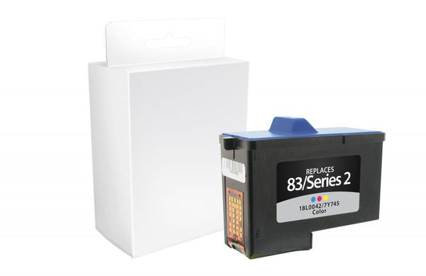 CIG Remanufactured Color Ink Cartridge for Dell Series 2, Lexmark #83