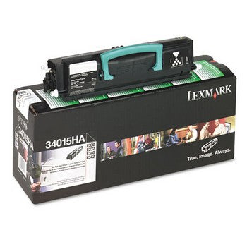 Lexmark 34015HA Black, High Capacity Toner Cartridge