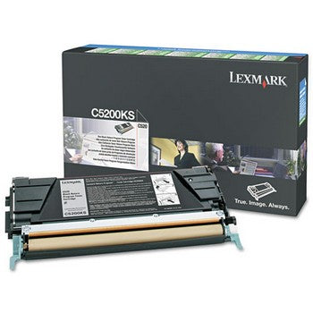 Lexmark C5200KS Black Toner Cartridge