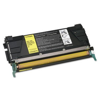 Lexmark C5220YS Yellow Toner Cartridge