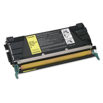 Lexmark C5222YS Yellow Toner Cartridge