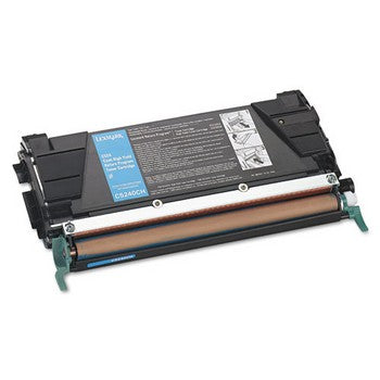 Lexmark C5240CH Cyan, High Yield Toner Cartridge