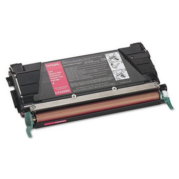 Lexmark C5240MH Magenta, High Yield Toner Cartridge