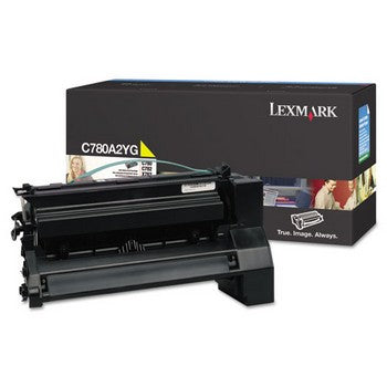 Lexmark C780A2YG Yellow Toner Cartridge