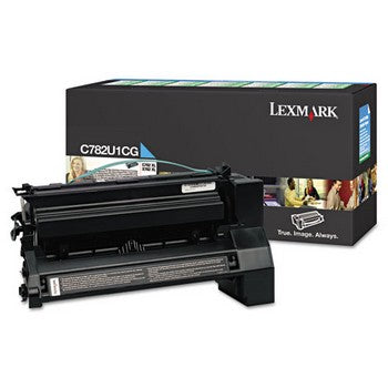 Lexmark C782U1CG Cyan (Extra High Yield) Toner Cartridge