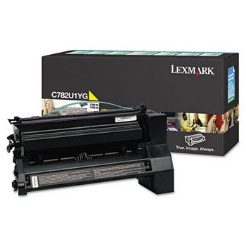 Lexmark C782U1YG Yellow (Extra High Yield) Toner Cartridge