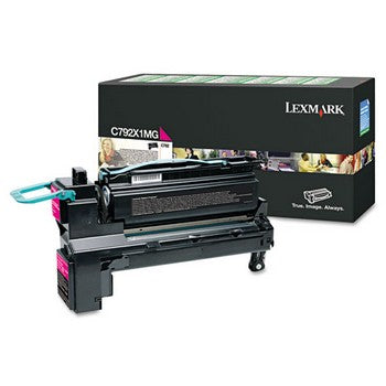 Lexmark C792X1MG Magenta, Extra High Yield Toner Cartridge