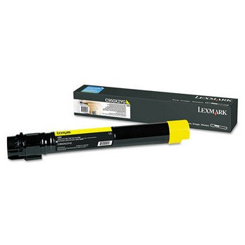Lexmark C950X2YG Yellow, High Yield Toner Cartridge