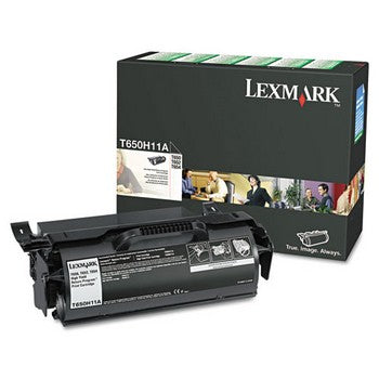 Lexmark T650H11A Black Toner Cartridge