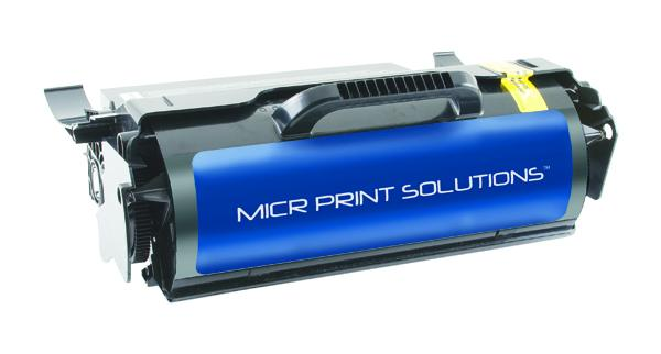 MICR Print Solutions Genuine-New High Yield MICR Toner Cartridge for Lexmark T650N/T652N/T654N