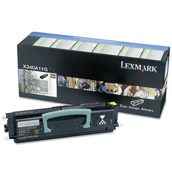 Lexmark X340A11G Black Toner Cartridge