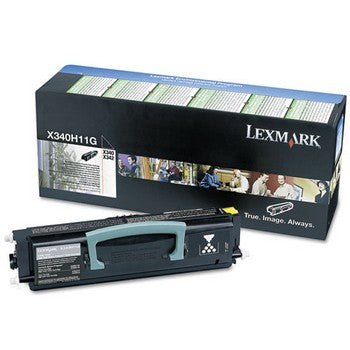 Lexmark X340H11G Black, Extra High Yield Toner Cartridge