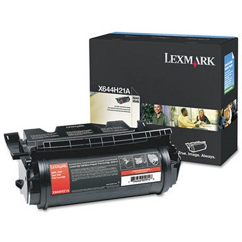 Lexmark X644H21A Black, High Yield Toner Cartridge