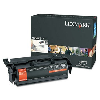 Lexmark X654X21A Black, Extra High Yield Toner Cartridge