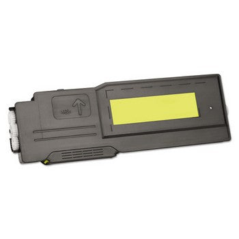Media Sciences (Dell C3760) Remanufactured Yellow, Standard Yield (Media Sciences) Toner Cartridge, Media Sciences MDA44004