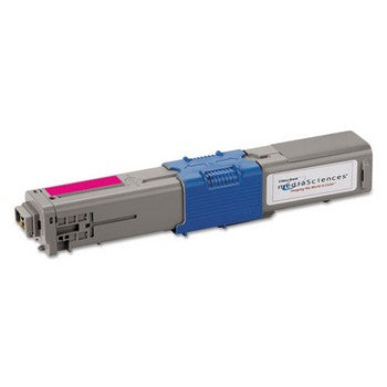 Media Sciences MDA44011 Remanufactured Magenta, Standard Yield (Media Sciences) Toner Cartridge