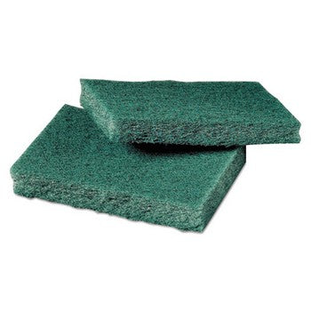 General Purpose Scrub Pad, 3 x 4 1/2, Green, 40 per Box