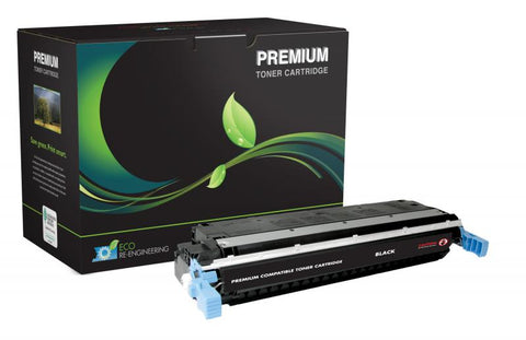 MSE Remanufactured Black Toner Cartridge for HP C9730A (HP 645A)