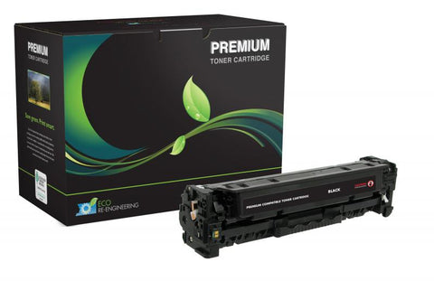 MSE Remanufactured Black Toner Cartridge for HP CE410A (HP 305A)
