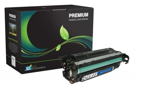 MSE Remanufactured Black Toner Cartridge for HP CE400A (HP 507A)