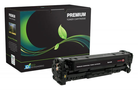 MSE Remanufactured Black Toner Cartridge for HP CC530A (HP 304A)