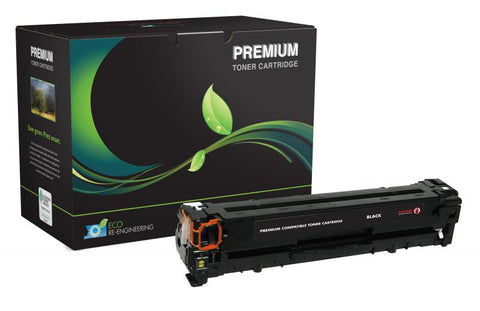 MSE Remanufactured Black Toner Cartridge for HP CB540A (HP 125A)