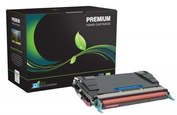 MSE Remanufactured High Yield Magenta Toner Cartridge for Lexmark C520/C522/C524/C534