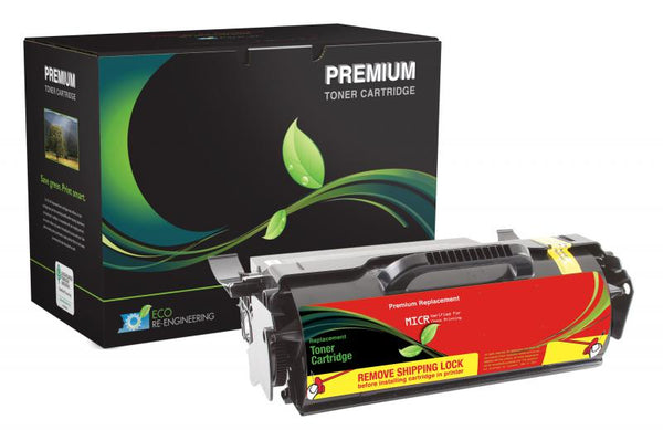 MSE Remanufactured High Yield Universal MICR Toner Cartridge for Lexmark T650/T652/T654/T656