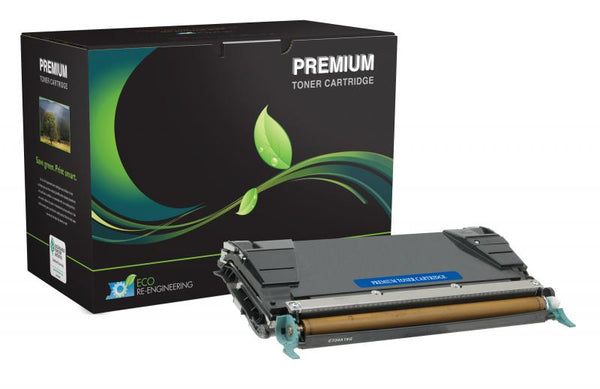 MSE Remanufactured Lexmark C734 Black Toner Cartridge