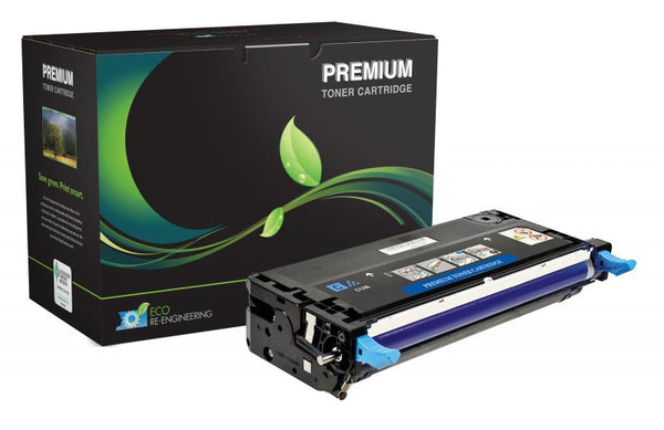 MSE Remanufactured High Yield Cyan Toner Cartridge for Dell 3130