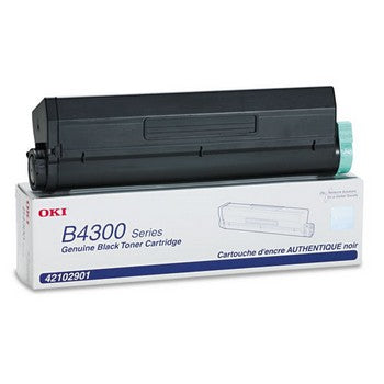 Okidata 42102901 Black, High Yield Toner Cartridge