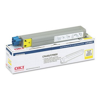 Okidata 42918901 Yellow Toner Cartridge