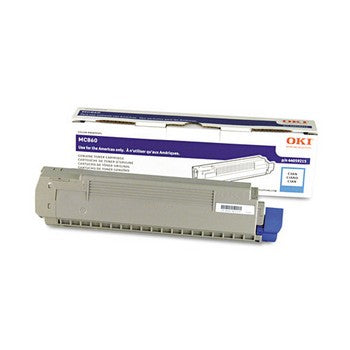 Okidata 44059215 Cyan Toner Cartridge
