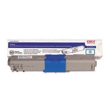 Okidata 44469721 Cyan, High Yield Toner Cartridge