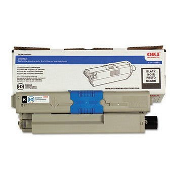 Okidata 44469802 Black, High Yield Toner Cartridge