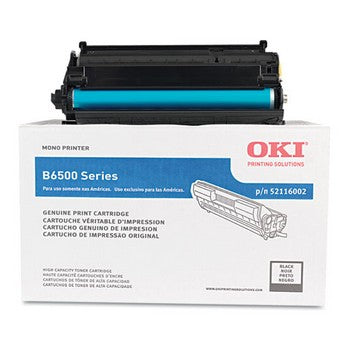 Okidata 52116002 Black, High Capacity Toner Cartridge