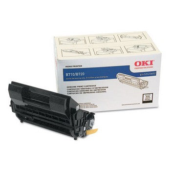 Okidata 52123602 Black, High Yield Toner Cartridge