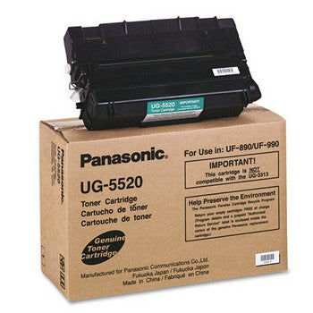 Panasonic UG-5520 Black Toner Cartridge, Panasonic UG5520