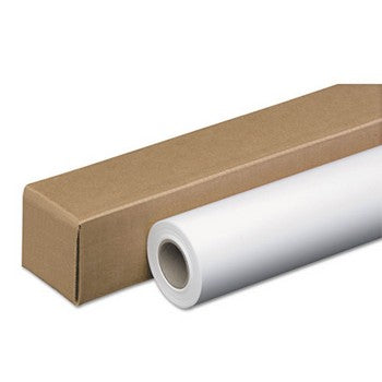 "PM Company 45142 2"" Core, 42"" x 150 ft, White Paper Roll"