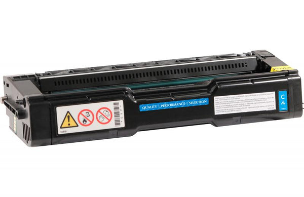 CIG Remanufactured High Yield Cyan Toner Cartridge for Ricoh 406476