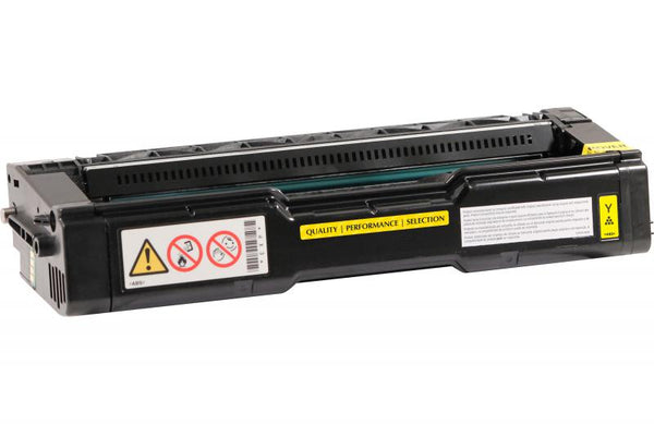 CIG Remanufactured High Yield Yellow Toner Cartridge for Ricoh 406478