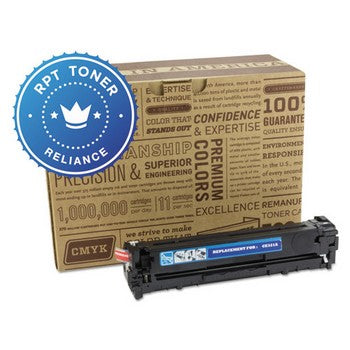 Reliance (HP 128A) Remanufactured Cyan, Standard Yield (Reliance) Toner Cartridge, Reliance RPT/CE321A
