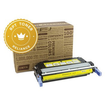 Reliance (HP 643A) Remanufactured Yellow, Standard Yield (Reliance) Toner Cartridge, Reliance RPT/Q5952A
