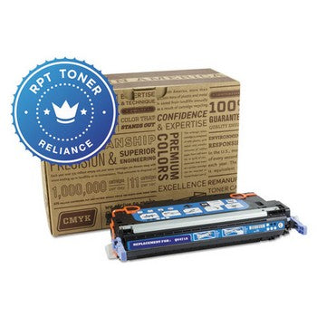 Reliance (HP 502A) Remanufactured Cyan, Standard Yield (Reliance) Toner Cartridge, Reliance RPT/Q6471A