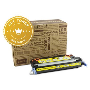 Reliance (HP 502A) Remanufactured Yellow, Standard Yield (Reliance) Toner Cartridge, Reliance RPT/Q6472A