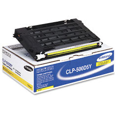 Samsung CLP500D5Y Yellow Toner Cartridge