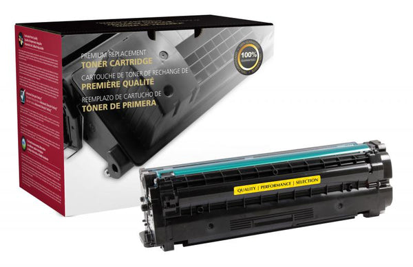 CIG Remanufactured High Yield Yellow Toner Cartridge for Samsung CLT-Y506L/CLT-Y506S