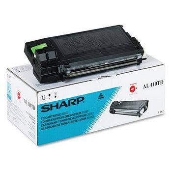Sharp AL-110TD Black Toner Cartridge, Sharp AL110TD